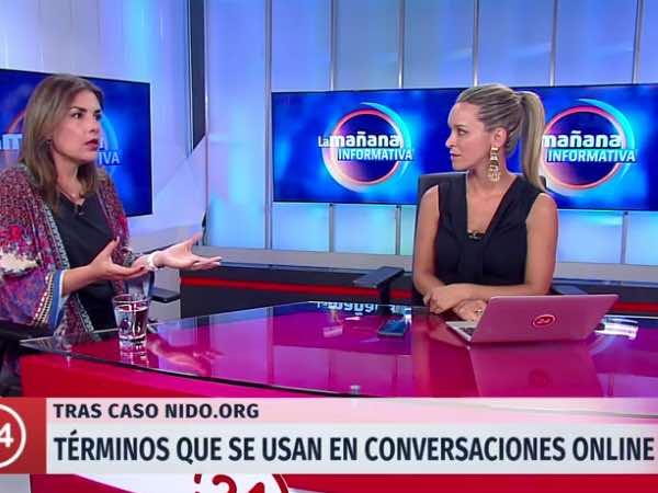 Entrevista a Soledad Garcés en 24 horas de TVN