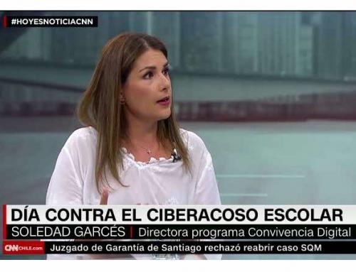 CNN Chile: Soledad Garcés da 4 consejos para proteger a los niños del cíber acoso
