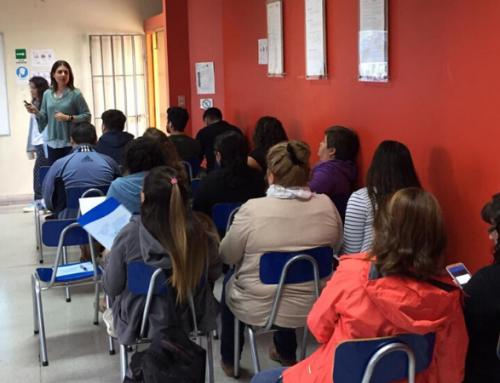 Profesores del Liceo Técnico Sergio Silva de La Pintana trabajaron en los factores claves para prevenir riesgos en el mundo digital